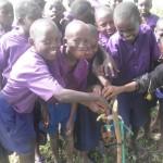 Wasserleitung Timboni-school