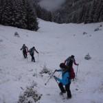 Junioren im Schnee