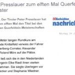 OÖ Nachrichten 24.01.2011