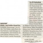 Kleine Zeitung 14.4.2011