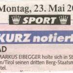 Kronen Zeitung 23.5.2011