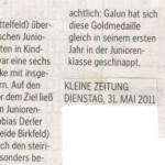 Kleine Zeitung 31.5.2011