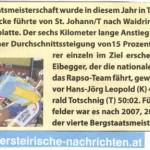 Obersteirische Nachrichten 26.05.2011