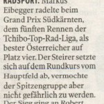 Kleine Zeitung 6.6.2011