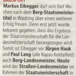 Kleine Zeitung 26.6.2011