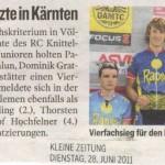 Kleine Zeitung 28.6.2011
