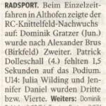 Kleine Zeitung 31.8.2011