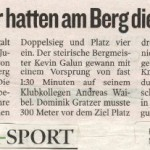 Kleine Zeitung 7.9.2011