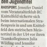 Kleine Zeitung 21.9.2011