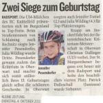 Kleine Zeitung 4.10.2011